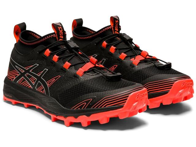 asics FujiTrabuco Pro Shoes Women, negro/rojo